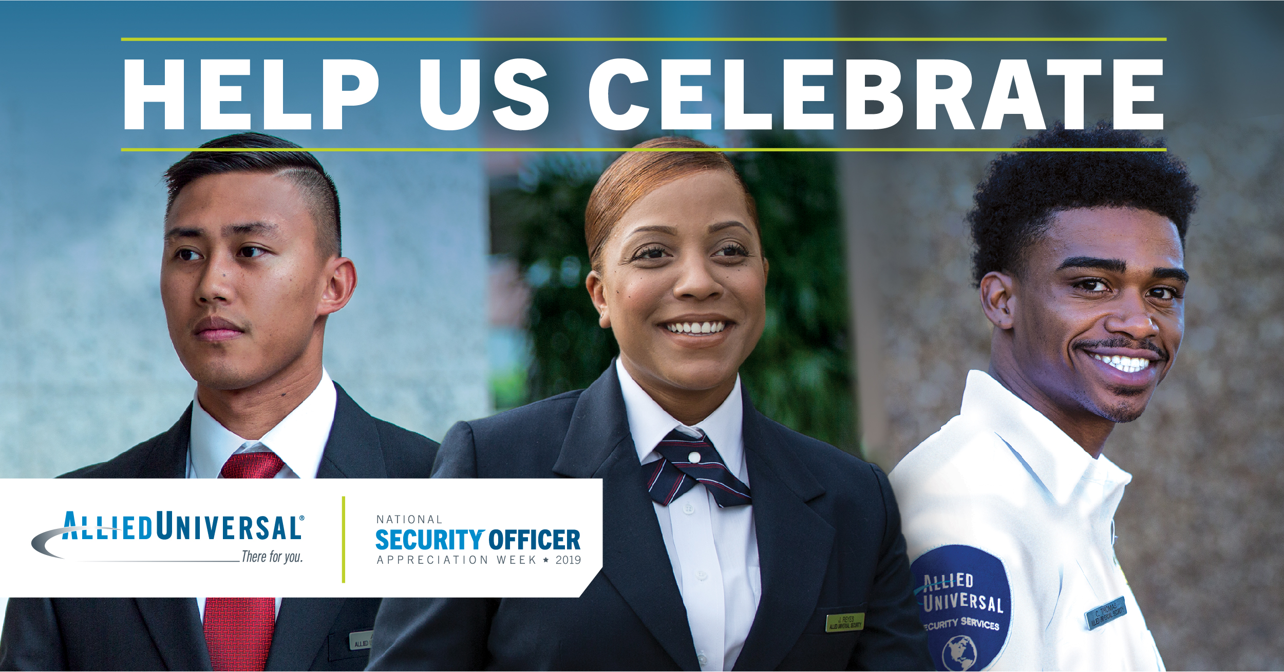 Security officers smiling - National Security Officer Appreciation Week