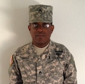 Allan D. Thomas,  Account Manager, Patrol Services Manager, Allied Universal United States Army