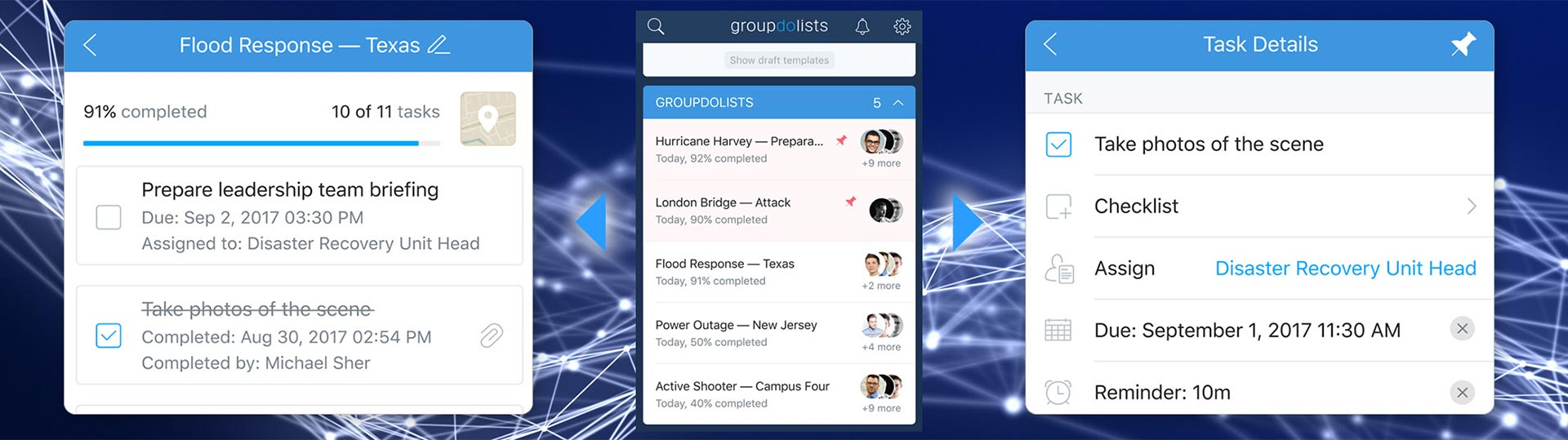 groupdolists application
